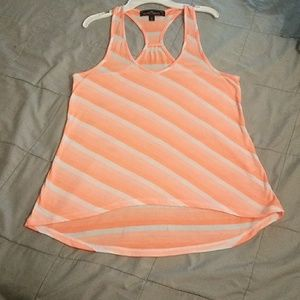 Almost Famous Striped Racerback Tank Top